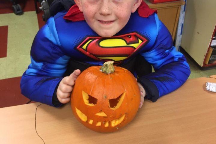 Halloween Aistear in Ms Murphy's class