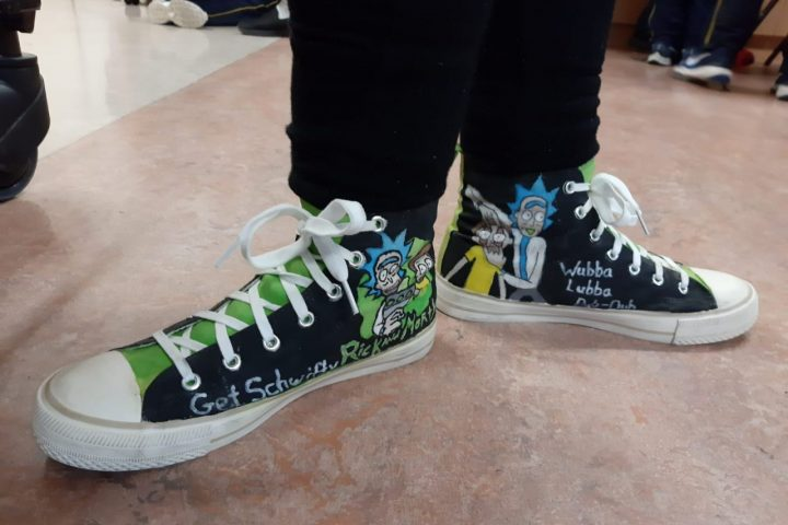Personalised High Tops!