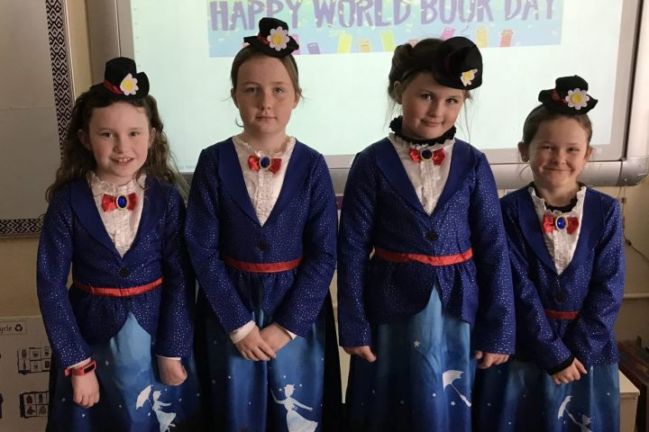 World Book Day in Ms Butler's Room