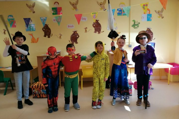 World Book Day in Síolta Beaga