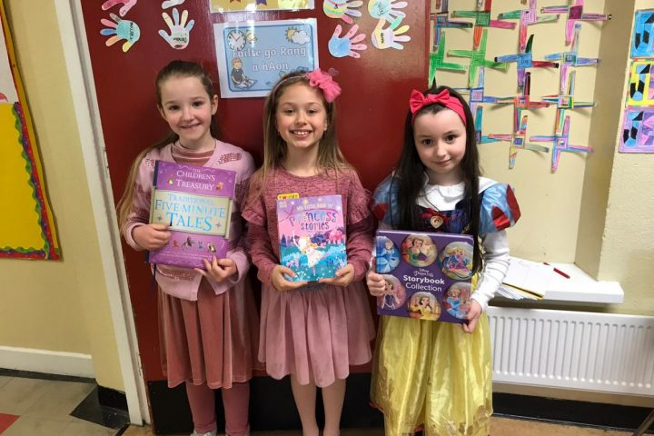World Book Day in Ms. O'Keeffe's First Class
