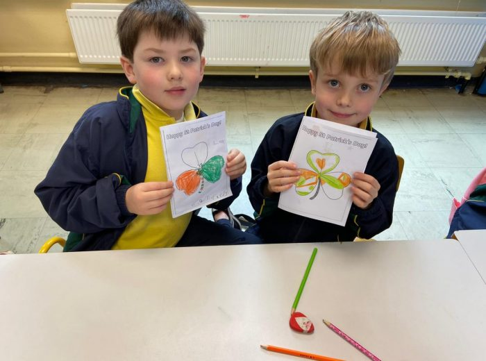 Ms Murphy's Class learn about St Patrick